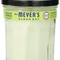 Mrs. Meyer's Clean Day Soy Candle, Lemon Verbena, 7.2 Ounce Jar
