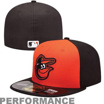 New Era Baltimore Orioles Diamond Era  59FIFTY Fitted Hat - Orange/Black