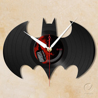 vinyl wall clock - Batman