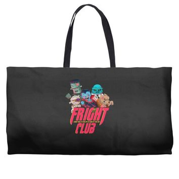 fright club Weekender Totes