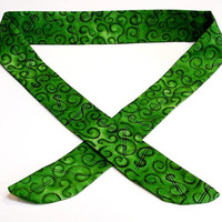 Dollar Sign Cooling Scarf Gel Neck Cooler Stay Cool Tie Bandana Wrap Body Head Heat Relief Headband iycbrand