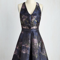 Mid-length Sleeveless Fit & Flare Radiating Romance Dress