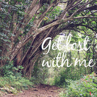GET LOST in the ENCHANTED FOREST  Art Print by Tara Yarte