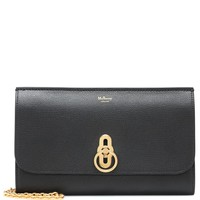 Amberley leather clutch