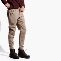 Men's Abenzo Wool Jogger (Tan)
