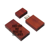 Custom Wooden USB Flash Drive