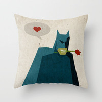 Love is Like War... Throw Pillow by Bright Enough ▲ | Society6