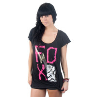 Fox - Party Girl Knotted Juniors T-Shirt