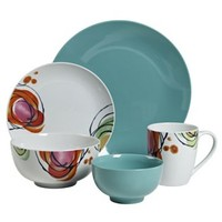 Tabletops Gallery Rosebud 20-pc. Dinnerware Set