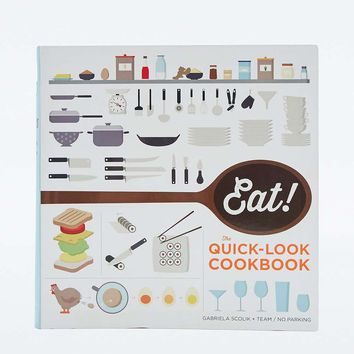 Eat! The Quick-Look Cookbook - Urban Outfitters