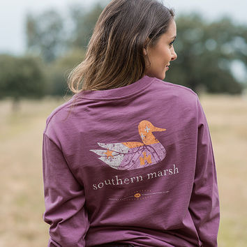 Southern Marsh Authentic Heritage Collection - Louisiana - Long Sleeve