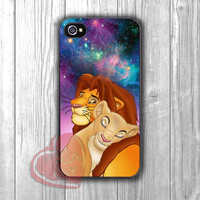 animal couple in love simba nala-1nay for iPhone 4/4S/5/5S/5C/6/ 6+,samsung S3/S4/S5,samsung note 3/4