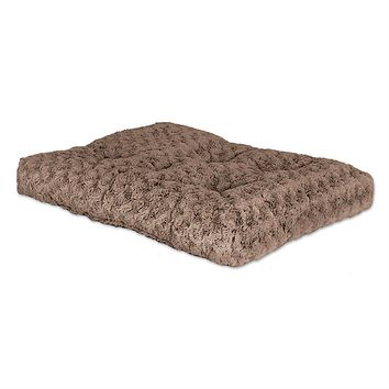 35 x 23 inch Ultra-Soft Synthetic Fur Tufted Pet Bed for Dogs up to 70lbs.