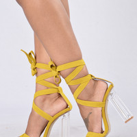 So Sleek Heel - Mustard