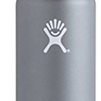 Hydro Flask Double Wall Vacuum Insulated Stainless Steel Sports Water Bottle, Wide Mouth with BPA Free Straw Lid