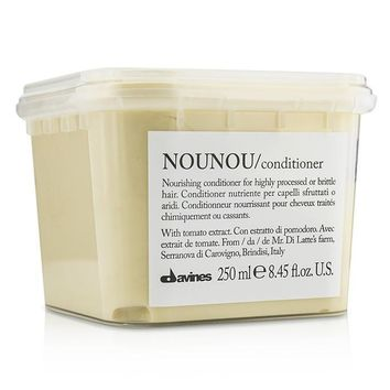 Nounou Nourishing Conditioner (For Highly Processed or Brittle Hair) - 250ml-8.45oz