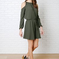 Dylan Cold-Shoulder Dress-FINAL SALE