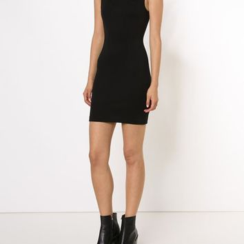 T By Alexander Wang Panelled Fitted Dress - Hu's Wear & Hu's Shoes - Farfetch.com