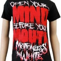 Motionless In White - Open Your Mind Soft Fit T-Shirt