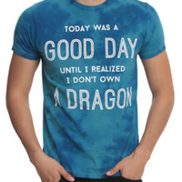 I Don't Own A Dragon Tie Dye T-Shirt