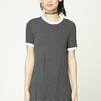Stripe Ringer T-Shirt Dress