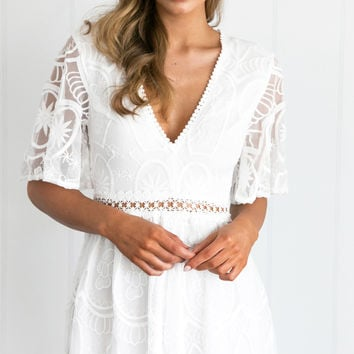 ROMARE PLAYSUIT (WHITE)