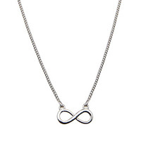 Bershka Portugal - Infinity symbol necklace