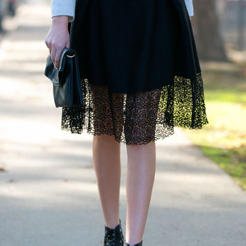 Sooner or Layer Party Skirt