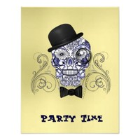 Mr Bones Fun Sugar Skull Party Time