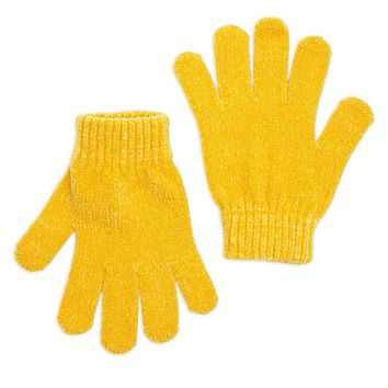 Chenille Knit Gloves