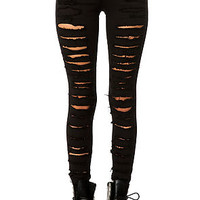 Tripp NYC Jean Cat Fight in Black
