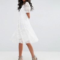 Needle & Thread Tulle Embroidery Dress at asos.com