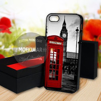 Public Red Telephone Box Big Ben case for Samsung Galaxy S3,S4,S5/Note 2,3/iPod 4th 5th/iPhone 5,5s,5c,4,4s,6,6+[ M03 ] LG Nexus/HTC One