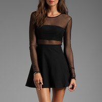 Motel Valeria Dress in Black from REVOLVEclothing.com