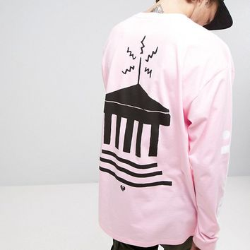 Carhartt WIP Radio Club Long Sleeve T-Shirt With Athens Back Print at asos.com