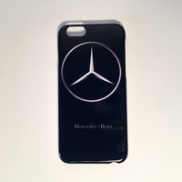 Mercedes Benz black logo custom iphone cases