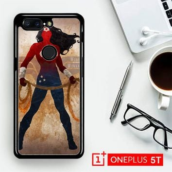 Wonder Woman Silhouette Y0546  OnePLus 5T / One Plus 5T Case