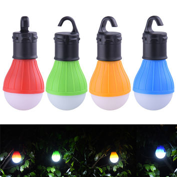 3 LEDs Outdoor Camping Tent Hanging Light