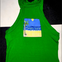 SWEET LORD O'MIGHTY! THE SOLITAIRE CROP TANK