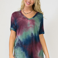 Northern Lights Short Sleeve Top