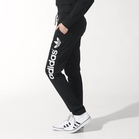 adidas Light Logo Track Pants - Black | adidas US