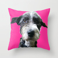 Custom pet pillow Custom throw pillow personalized pet pillow pet decorative pet pillow Custom pop art pet pillow from your photo