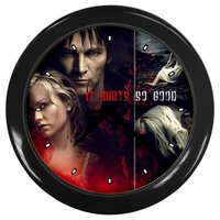 True Blood Movie Wall Clocks 10 Inch Kitchen Modern Unique Round Black Decorations High Quality Grea