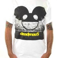 ROCKWORLDEAST - Deadmau5, T-Shirt, Logo Brick Wall