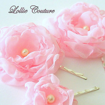 Paris Pink perfection bobbie pin set