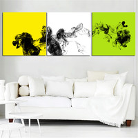 Abstract Oil Painting  Posters and Prints Mordern Canvas Art Wall Picture for Living Room NO Frame Cuadros Decoration 3 Pieces