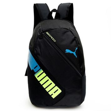 """PUMA"" Casual Sport Shoulder School Bag Backpack"