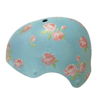 Belle Bike Helmets in Pink & Blue Floral