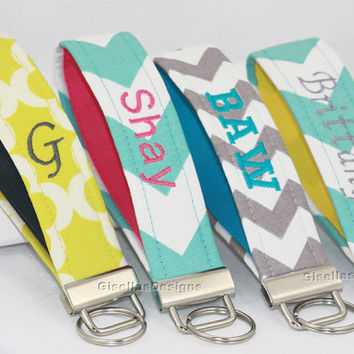 Personalized Key Fob/ Custom made Key chain/  Handmade key fob/ Design your own key fob/ Makes a great gift