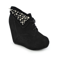 Shiekh Camilla-76 womens platform ankle boot wedge